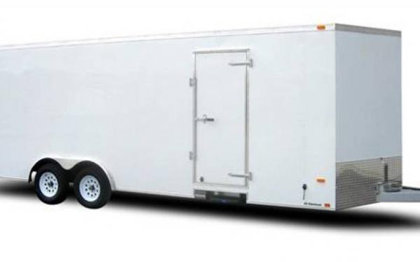 Lightning 28' Enclosed Car Hauler