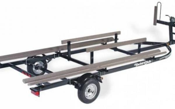 Yacht Club Single Axle Pontoon Trailer