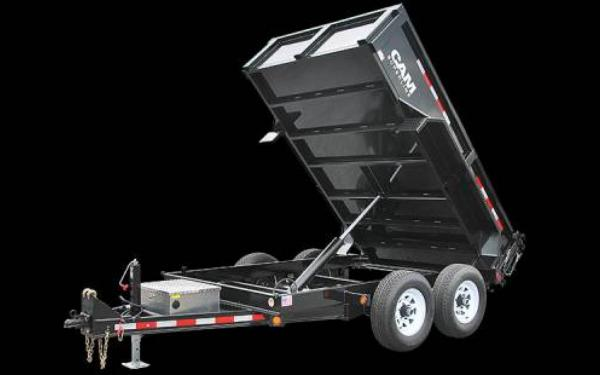 CAM Superline Standard Duty Low Profile Dump Trailer