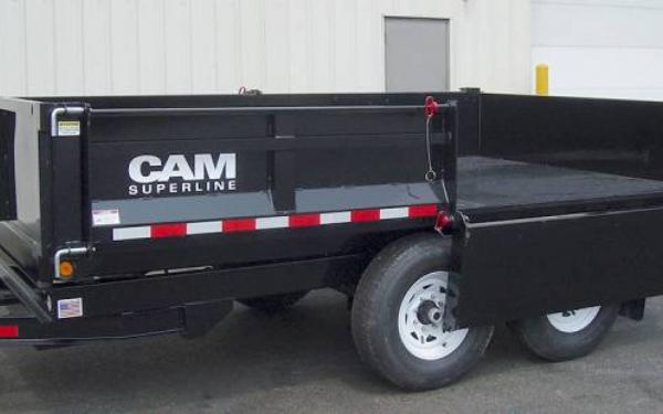 CAM Superline Deckover Dump Trailer