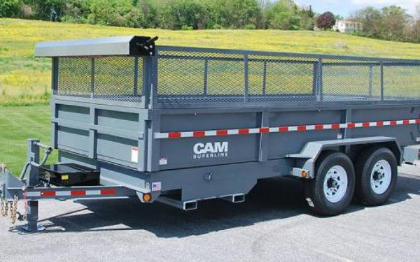 CAM Superline Heavy Duty Low Profile Dump Trailer