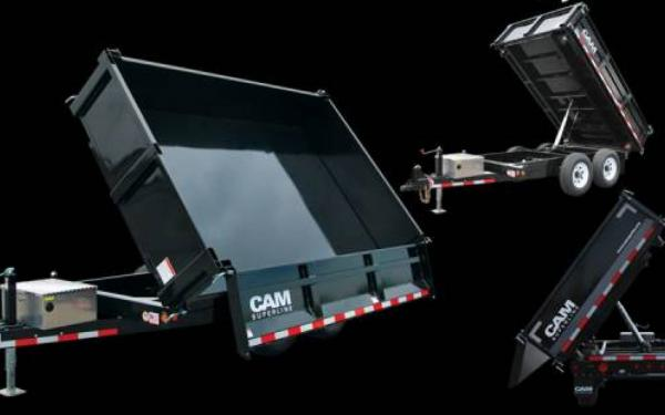 CAM Superline 3-Way Deckover Dump Trailer