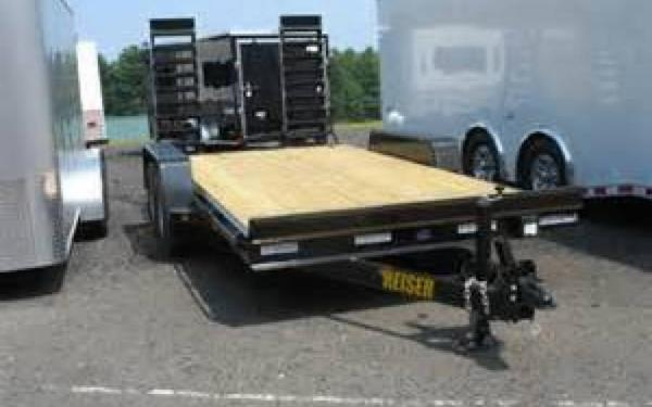 Reiser Tandem Axle Equipment Trailer