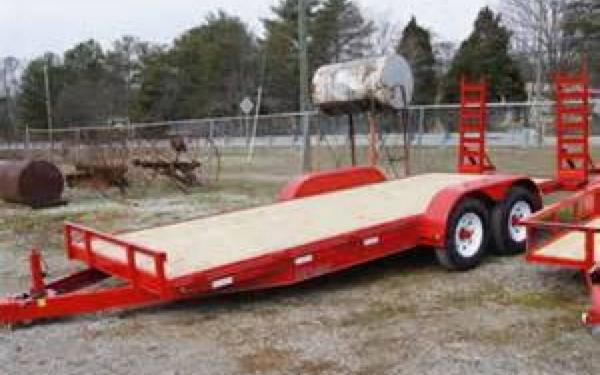 Reiser 18' Equipment Trailer