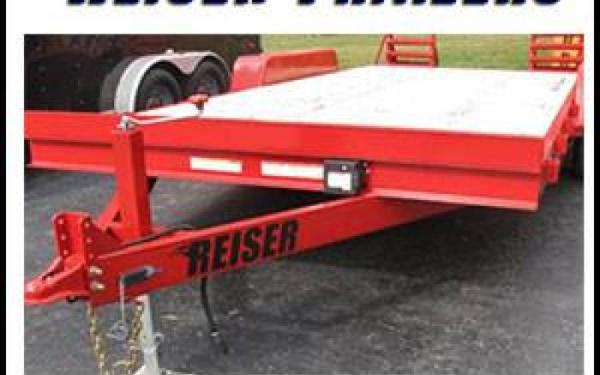 Reiser Tandem Axle 18' Equipment Trailer