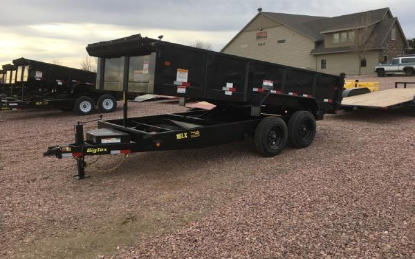 2018 Big Tex 16 LX - 16 Dump trailer #1123
