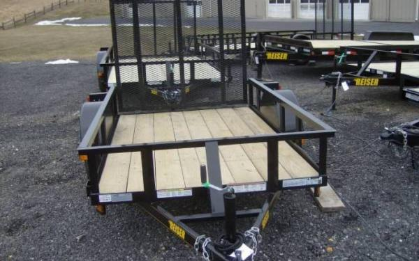 Reiser Single Axle Landscape Trailer