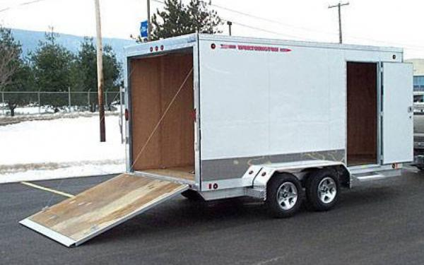 Worthington 87 Series Enclosed V-Nose Trailer