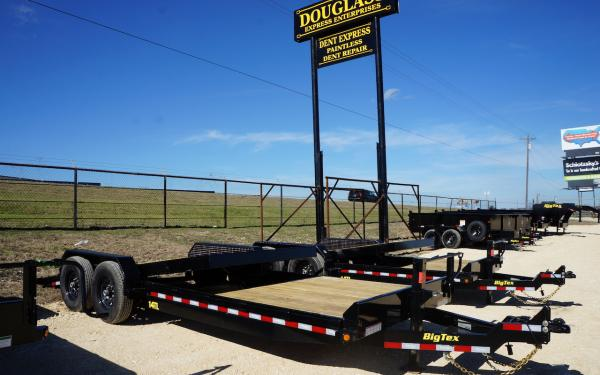 "Big Tex 80"" X 20' TILT DECK 14K BUMPER PULL"