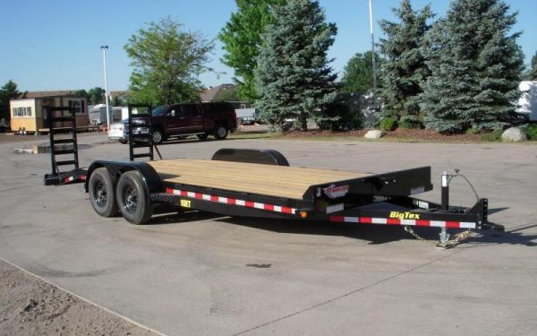 Big Tex 10ET-20BK-KR Equipment Trailer
