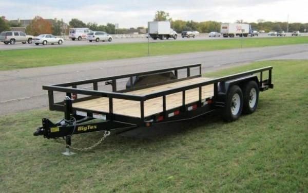 Big Tex 14PI-20BK Equipment Trailer