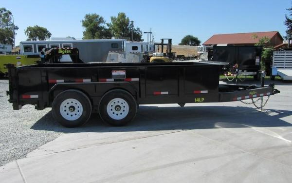 Big Tex 14LX- 14 Heavy Duty Tandem Axle Extra Wide Dump