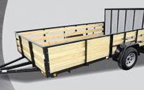 Quality Steel And Aluminum Products Angle High Side Utility Trailers
