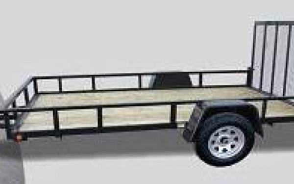 Quality Steel And Aluminum Products Angle Iron Utility Trailer