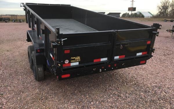 2018 Big Tex 16 LX - 16 Dump trailer #1122