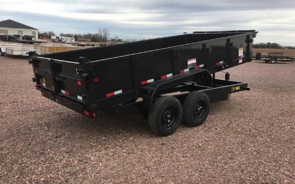2018 Big Tex 16 LX - 16 Dump trailer #1124