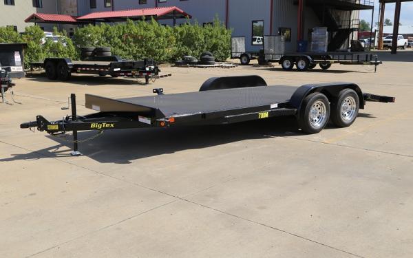 "Big Tex 70DM-83"" x 20 Tandem Axle Premium Car Hauler"