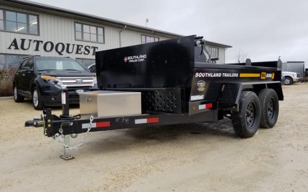 2019 Southland SL235T 6' x 10' Utility Dump Trailer - 7 000 lbs