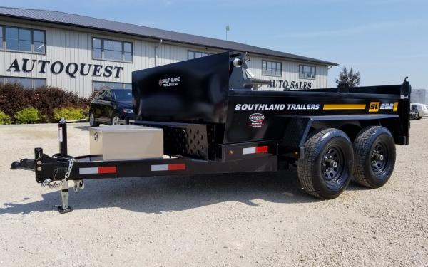 2020 Southland SL252T 6' x 10' Utility Dump Trailer - 9 900 lbs