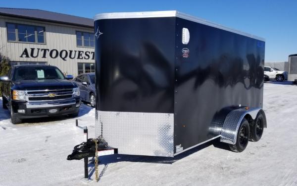 "2019 Southland Royal Cargo LTV 6' x 12' (+2') x 72"" Cargo Trailer with Ramp Door - 7 000 lbs"