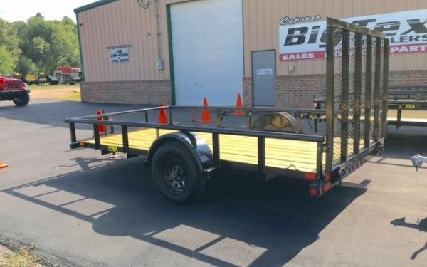Big Tex 35SA- 14 Single Axle Utility Trailer