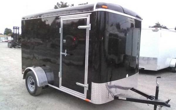"5X8 CONT CARGO TAILWIND DOUBLE REAR DOOR +6"" HT"