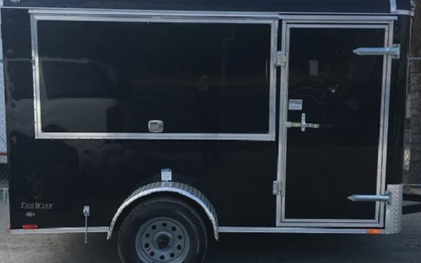 6X10 CONT CARGO TAILWIND CONCESSION DOUBLE REAR DOOR
