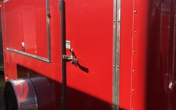 6X12 CONT CARGO TAILWIND CONCESSION DOUBLE REAR DOOR