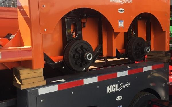 5X10 ANDERSON HGL EQUIPMENT TRAILER