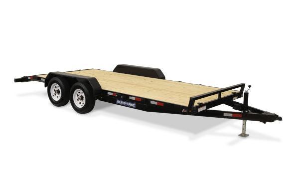 Sure -Trac 7 X 20 Wood Deck Car Hauler, 10k