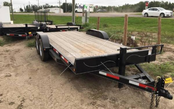 2015 ABU 18' Car Trailer
