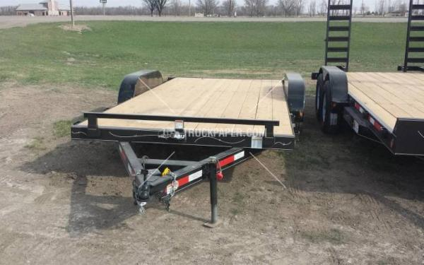 2015 ABU 16' Car Trailer