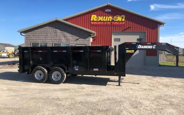 2019 Diamond C Extreme Duty Gooseneck Dump Trailer