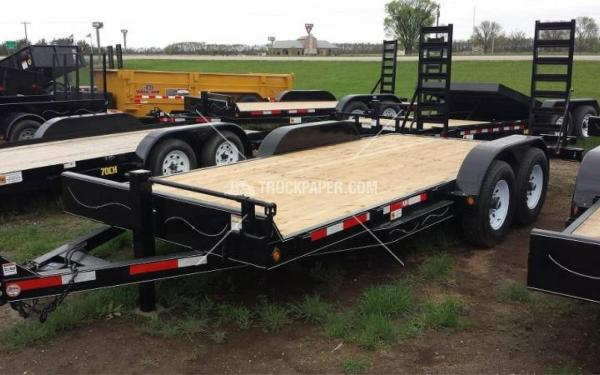 2016 ABU 20' Equipment Trailer