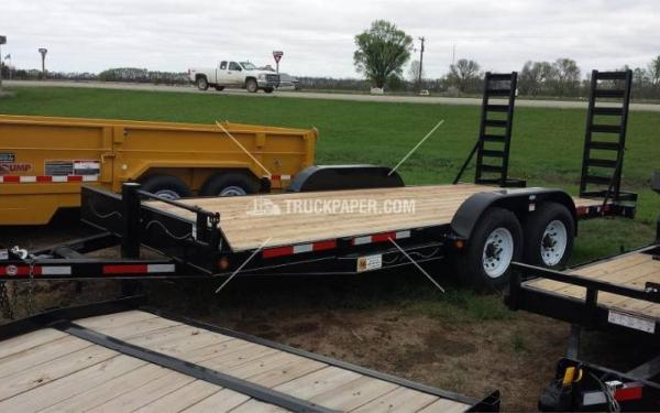 2015 ABU 18' Equipment Trailer