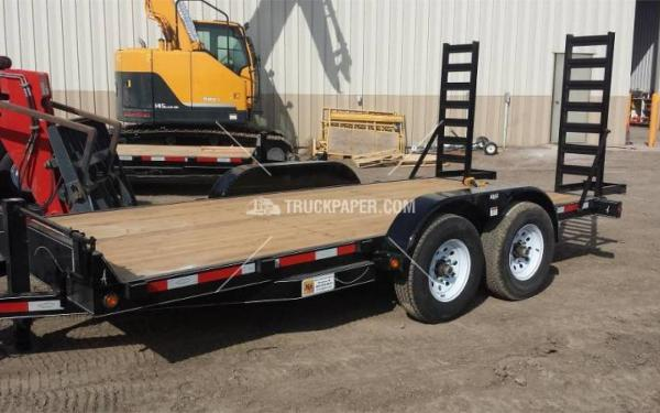 2015 ABU 20' Equipment Trailer