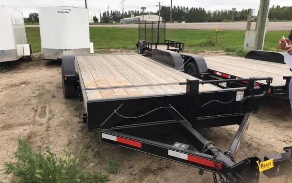2015 ABU 20' 3/4 Tilt Bed Trailer