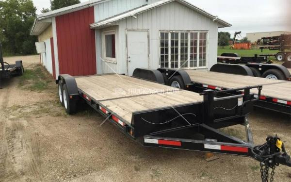 2015 ABU 22' Tilt Bed Trailer