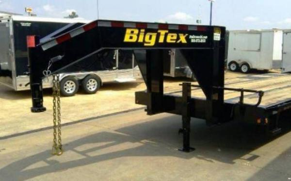 BG TEX 8.5X20'+5 TANDEM 20,000# AXLE GOOSENECK TRAILER