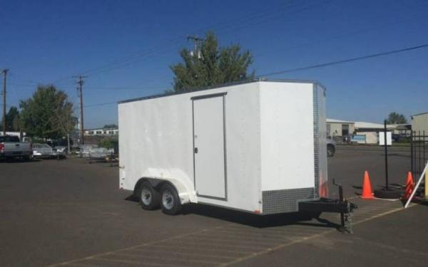 2020 CargoMate EHW716TA2  7 x 16 Tandem Axle Enclosed Trailer