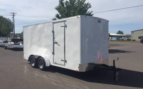 2019 CargoMate CH716TA2  7 x 16 Tandem Axle Enclosed Trailer