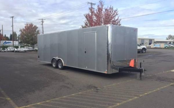 2019 Cargo Mate EHW8528TA3  8.5 x 28 Tandem Axle Enclosed Trailer