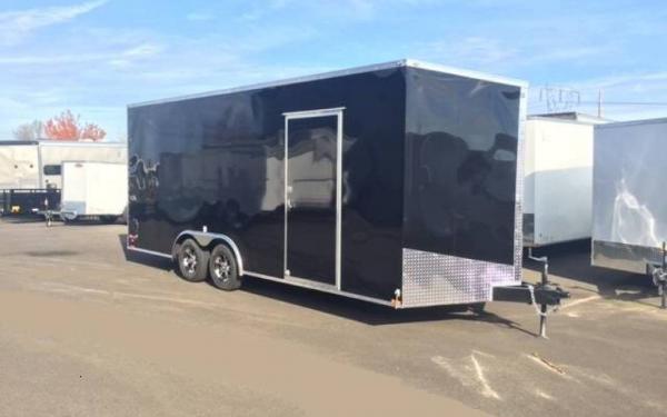 2019 Cargo Mate EHW8520TA2  8.5x20 Tandem Axle Enclosed Trailer