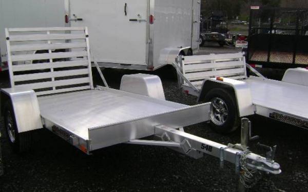 2020 Aluma 548LW  4.5 x 8 Aluminum Trailer