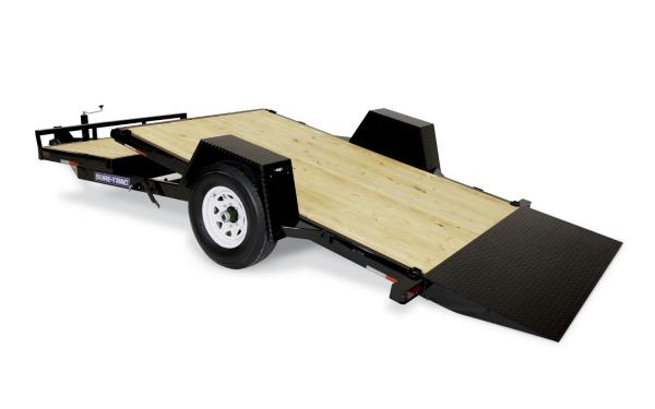 Sure-Trac Single Axle Tilt Bed Equipment 12+4 7k