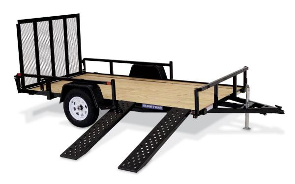 Sure-Trac 7x12 Tube Top ATV Trailer