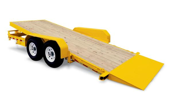 Sure-Trac 18+4 14K Tilt Bed Equipment Trailer