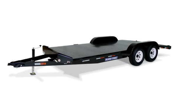 Sure-Trac 20' 10k Steel Floor Car Hauler