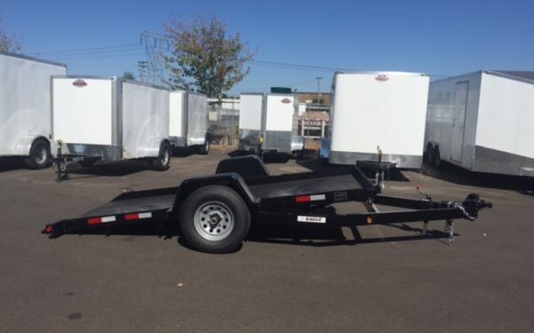 2020 Eagle EPT612SA3, 6 x 12 Pan Tilt Equipment Trailer