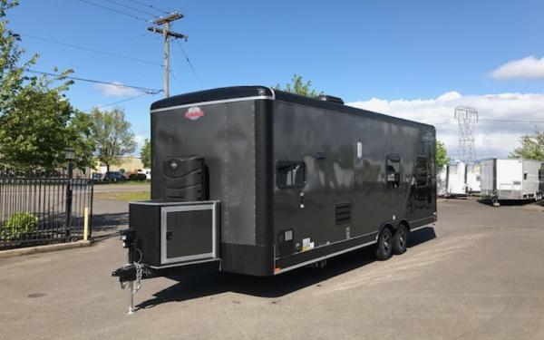 2018 CargoMate BL824TA3  8 x 24 Tandem Axle w/ Living Quarters